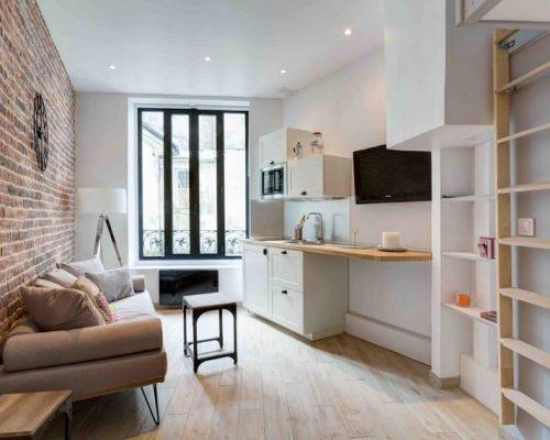 Investissement locatif ancien Loge de gardien Paris - Montmartre