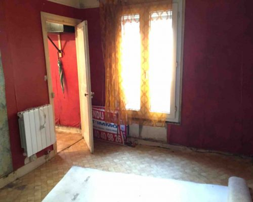 Appartement Canal Saint Martin Paris a renover