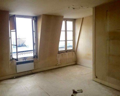 Belle affaire immobilière - Deux pièces Le Marais à rénover