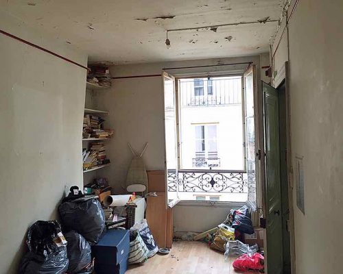Investissement locatif studio rénover Paris Montorgueil