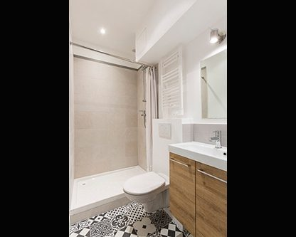 Appartement locatif Paris redécoré par architecte d'intérieur