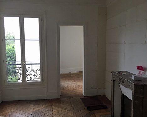 2 pièces à rénover pour investissement immobilier à Paris rue de maubeuge