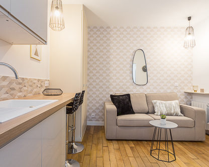 Investissement immobilier Paris 17 clé en main LMNP
